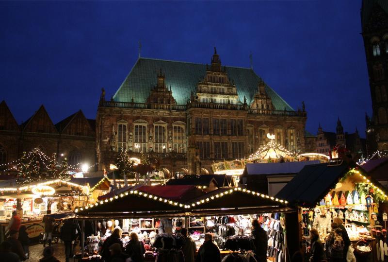 Jarmark świąteczny w Bremie