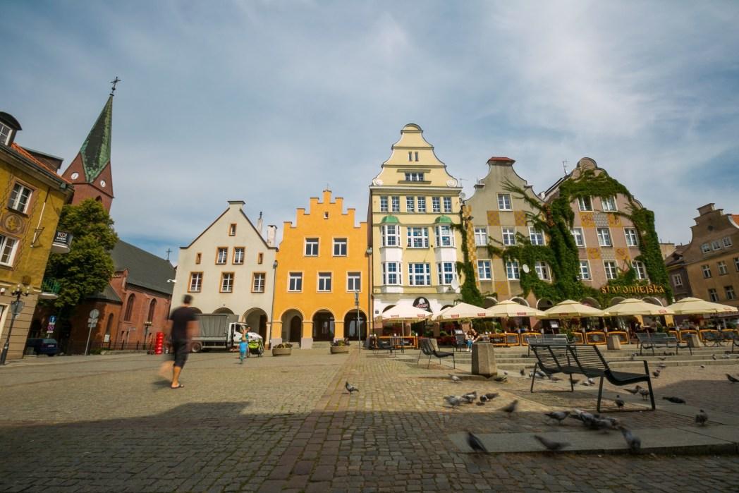 Olsztyn - miasto pośród 15 jezior