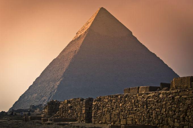 Piramida w Gizie, Egipt