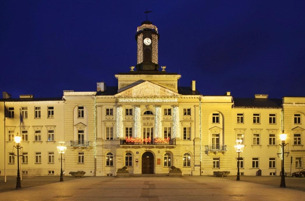 Płock, budynek ratusza