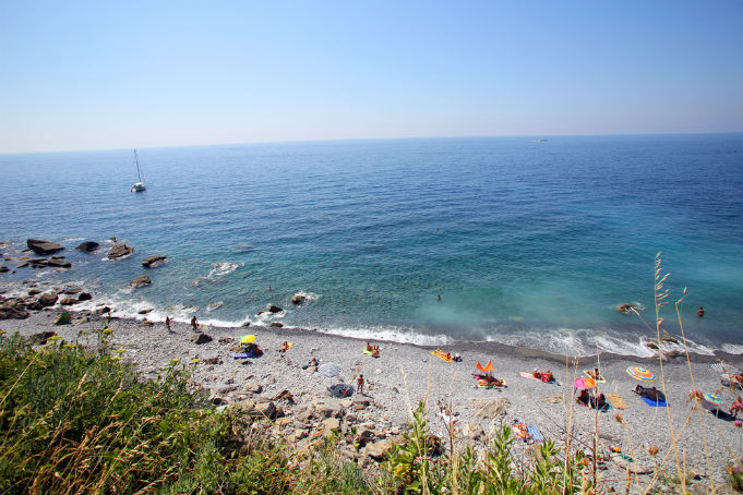 Spiaggia di Guvano, Włochy