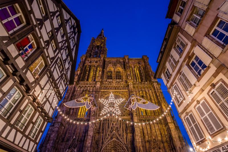 Jarmark świąteczny w Strasburgu