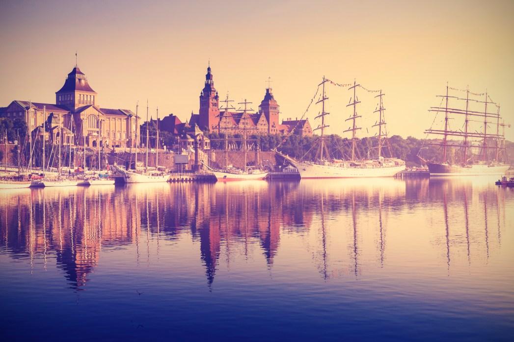 Stare miasto w Szczecinie