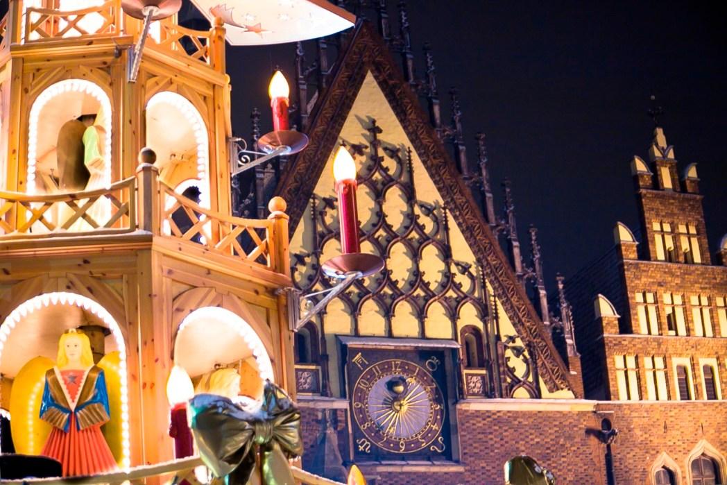 Jarmark świąteczny we Wrocławiu